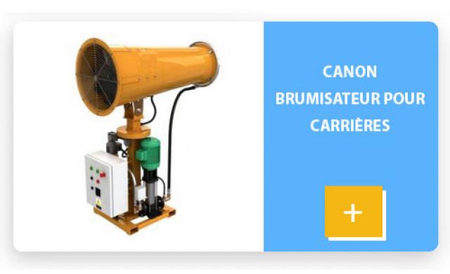 Canon Brumisateur pour carrières