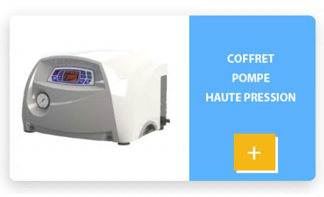 Coffret pompe haute pression