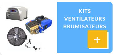 Kits Ventilateurs Brumisateurs New