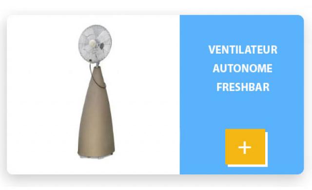 Ventilateur autonome FRESHBAR