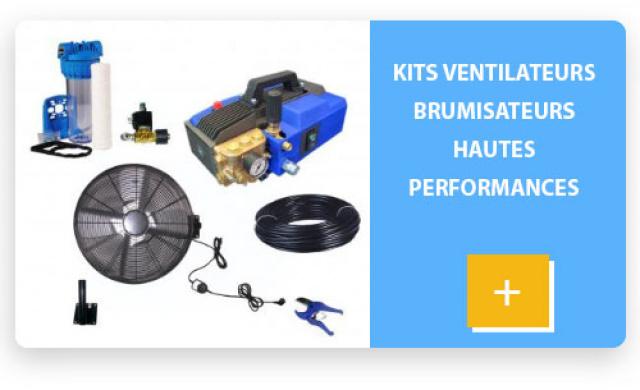 kit ventilateur brumisateur PRO